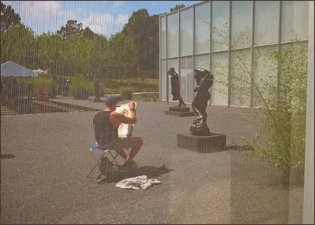 NCMA Rodin garden